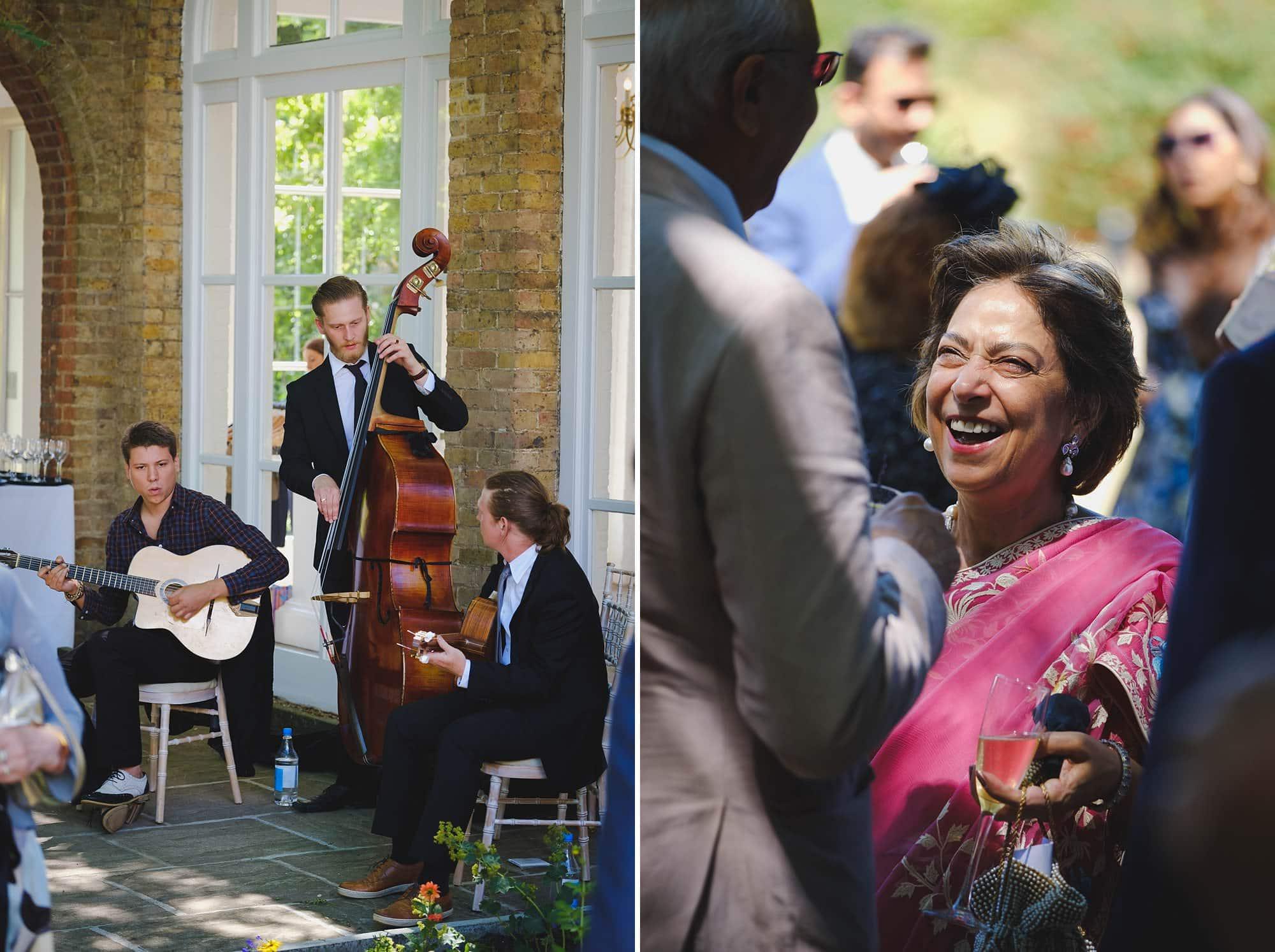 orangery holland park wedding reception 016 - Holland Park Orangery Wedding Photographer | Ayesha & Ritam