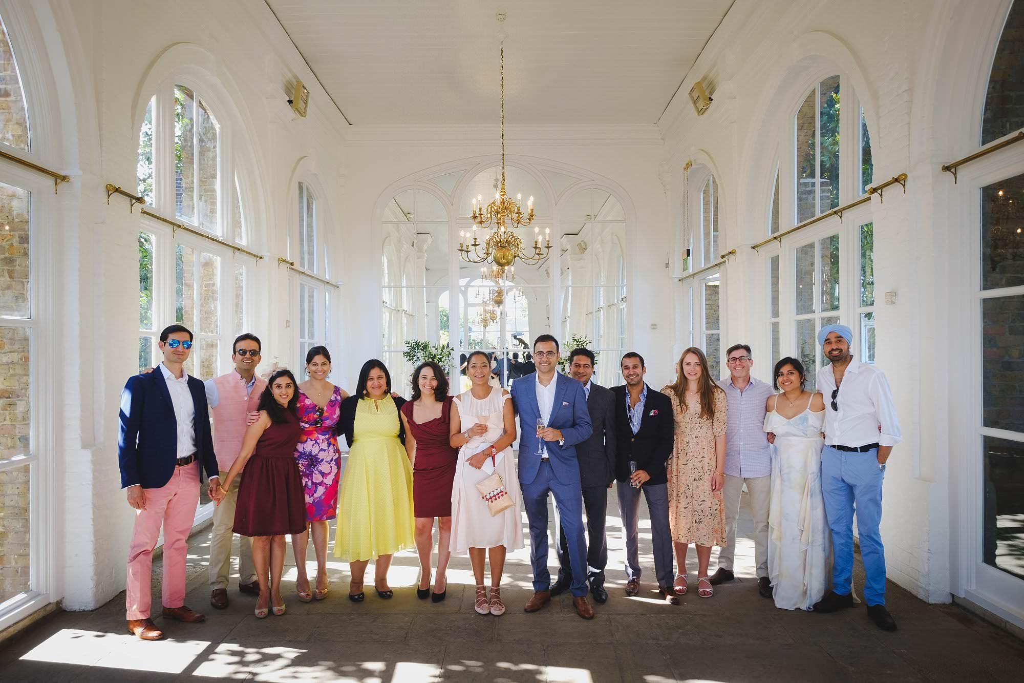 orangery holland park wedding reception 030 - Holland Park Orangery Wedding Photographer | Ayesha & Ritam