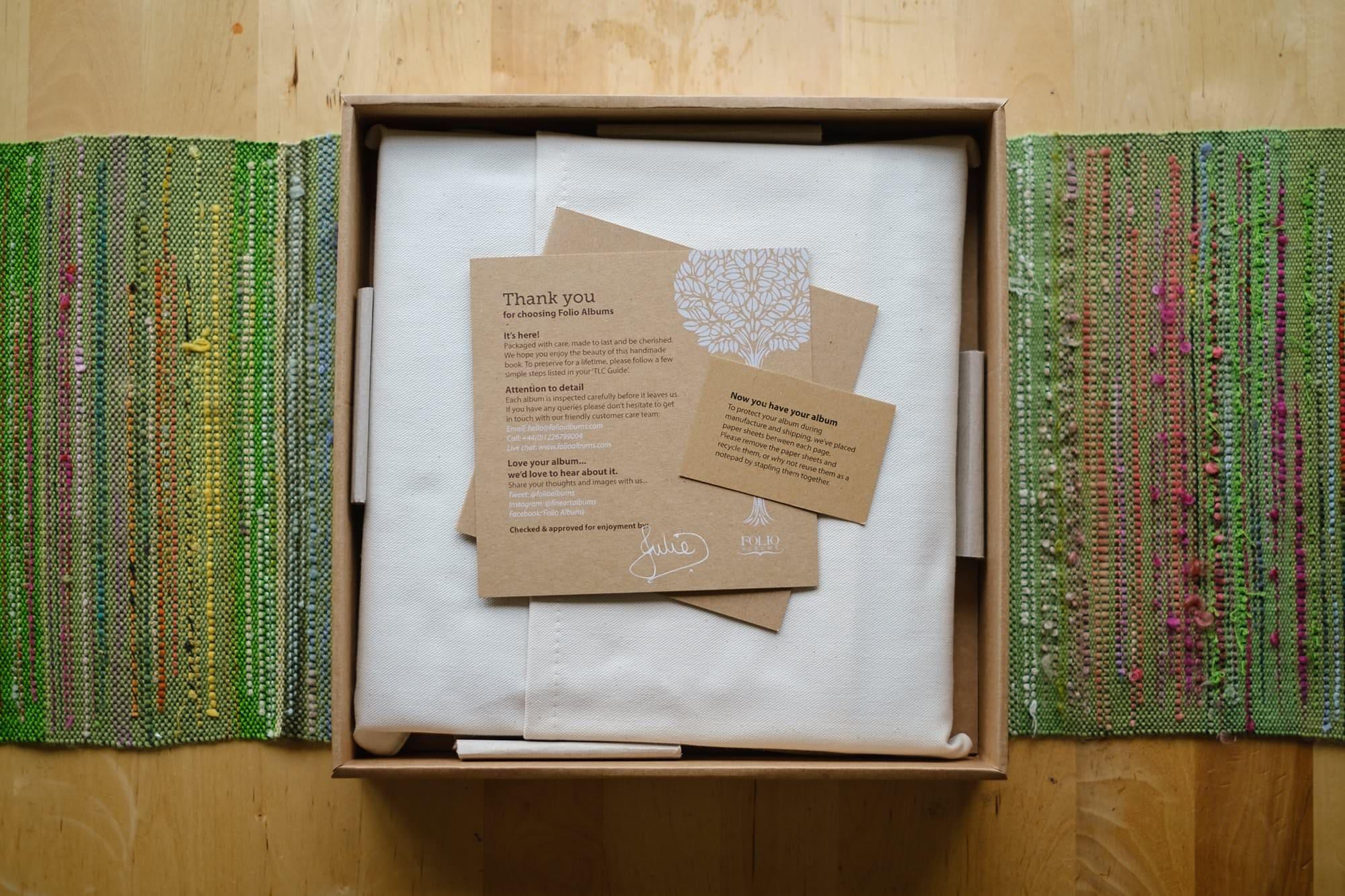 Folio Fine Art Wedding LandA 009 - For Couples | A beautiful wedding album from Folio Albums