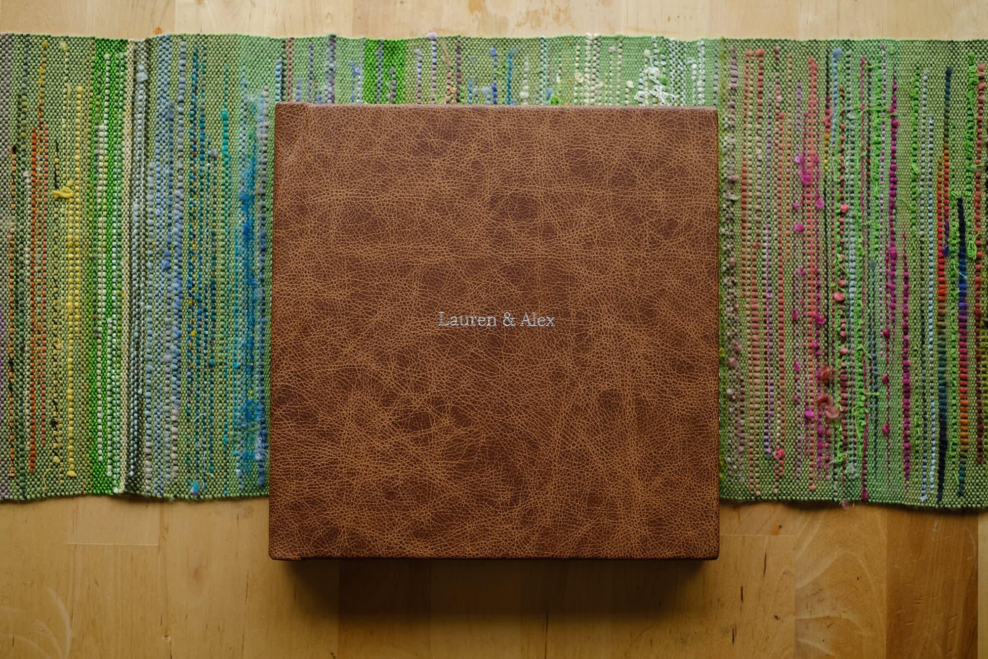 Folio Fine Art Wedding LandA 028 - For Couples | A beautiful wedding album from Folio Albums