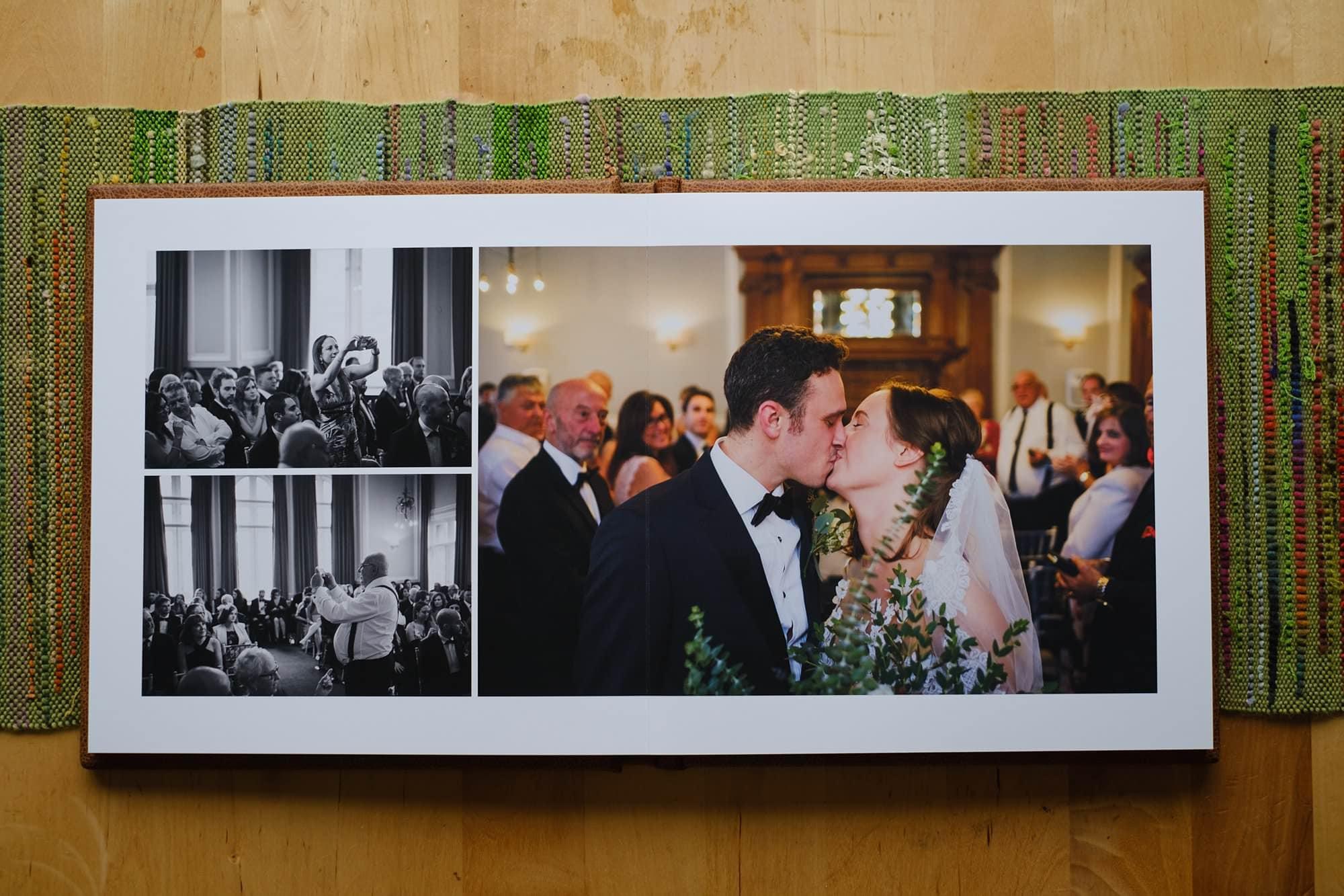 Folio Fine Art Wedding LandA 046 - For Couples | A beautiful wedding album from Folio Albums