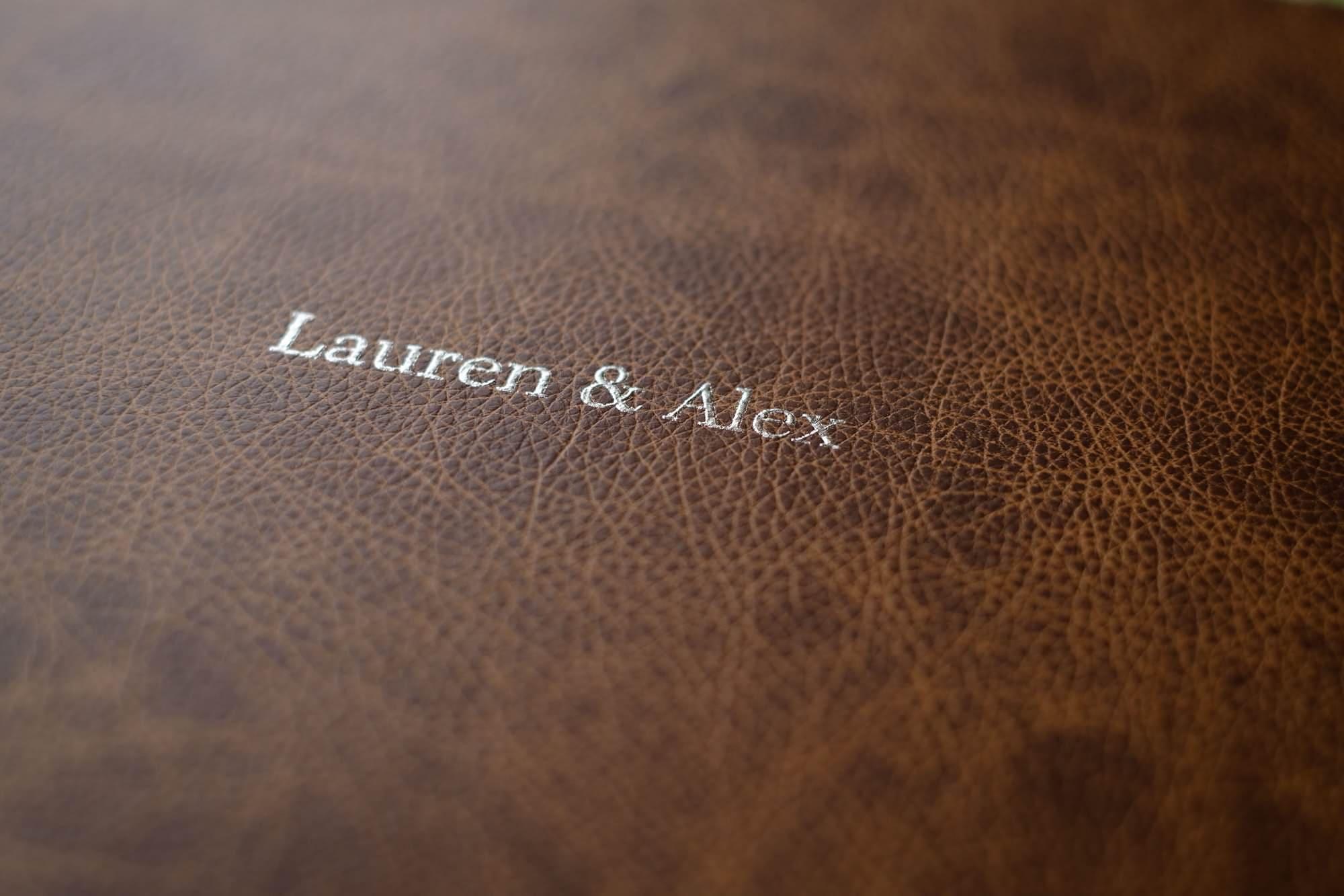 Folio Fine Art Wedding LandA 056 - For Couples | A beautiful wedding album from Folio Albums