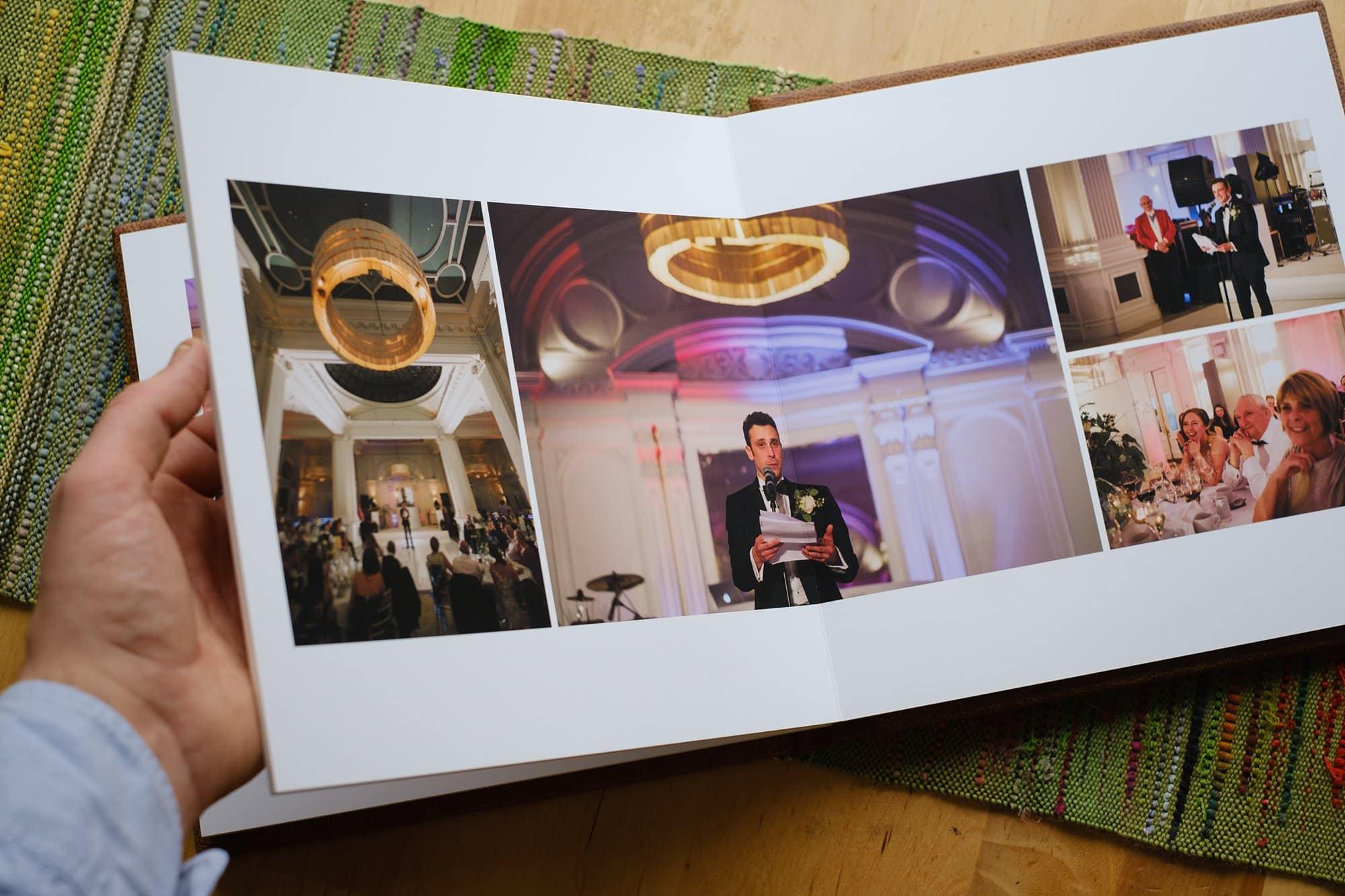 Folio Fine Art Wedding LandA 061 - For Couples | A beautiful wedding album from Folio Albums