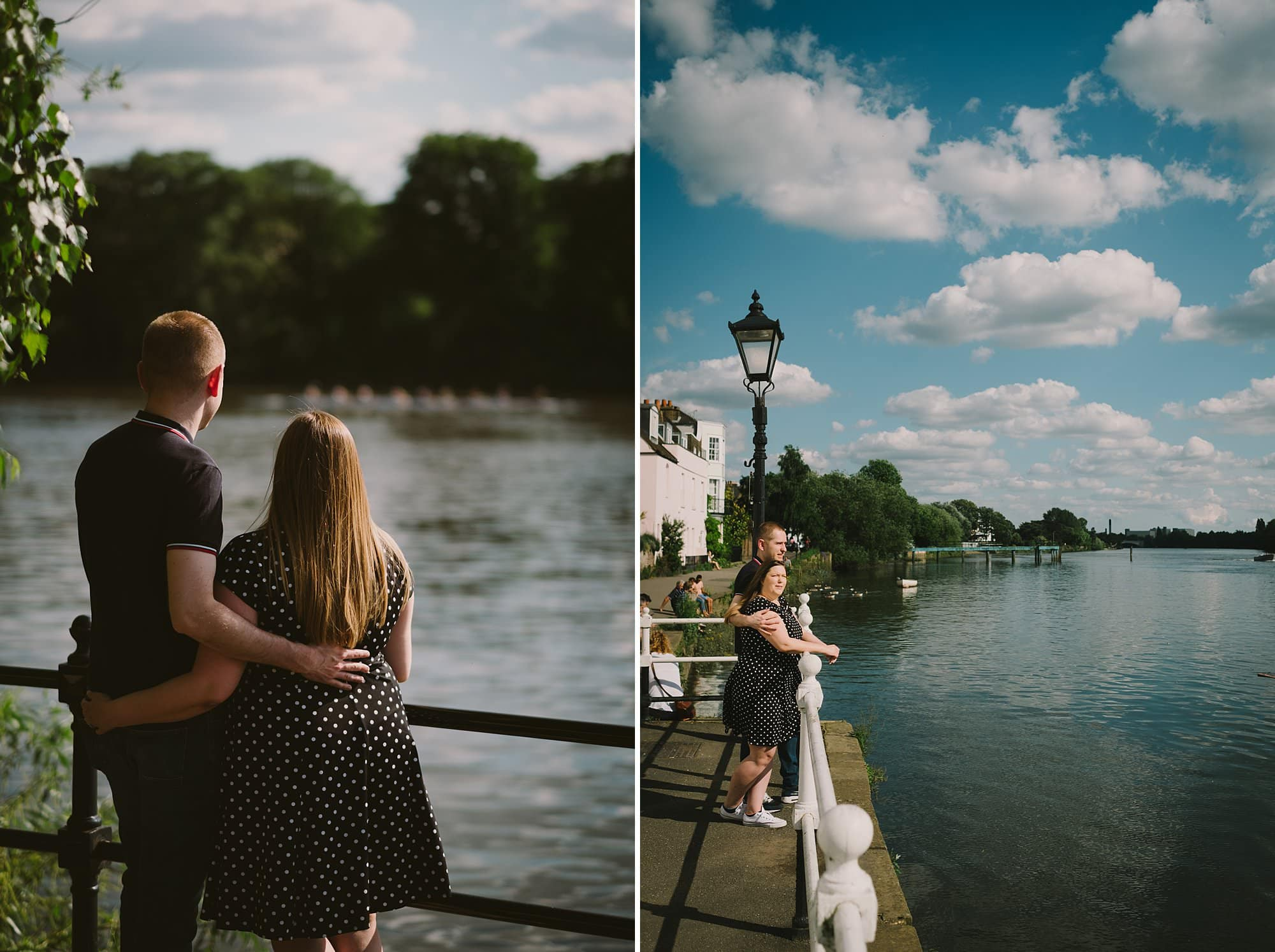 london engagement photographer strand on the green hj 006 - Hannah + Joe | Strand on the Green Engagement Photography