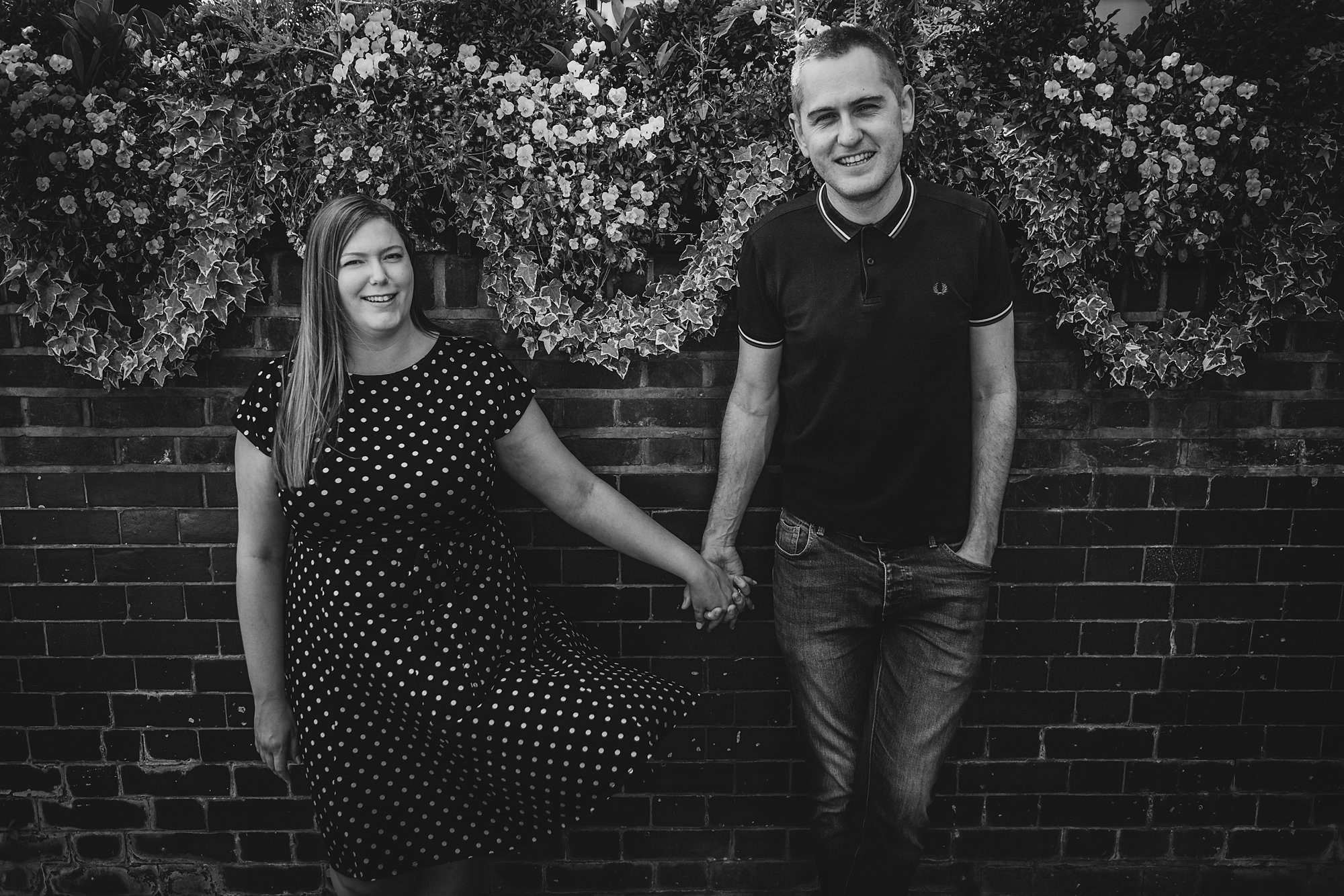 london engagement photographer strand on the green hj 012 - Hannah + Joe | Strand on the Green Engagement Photography