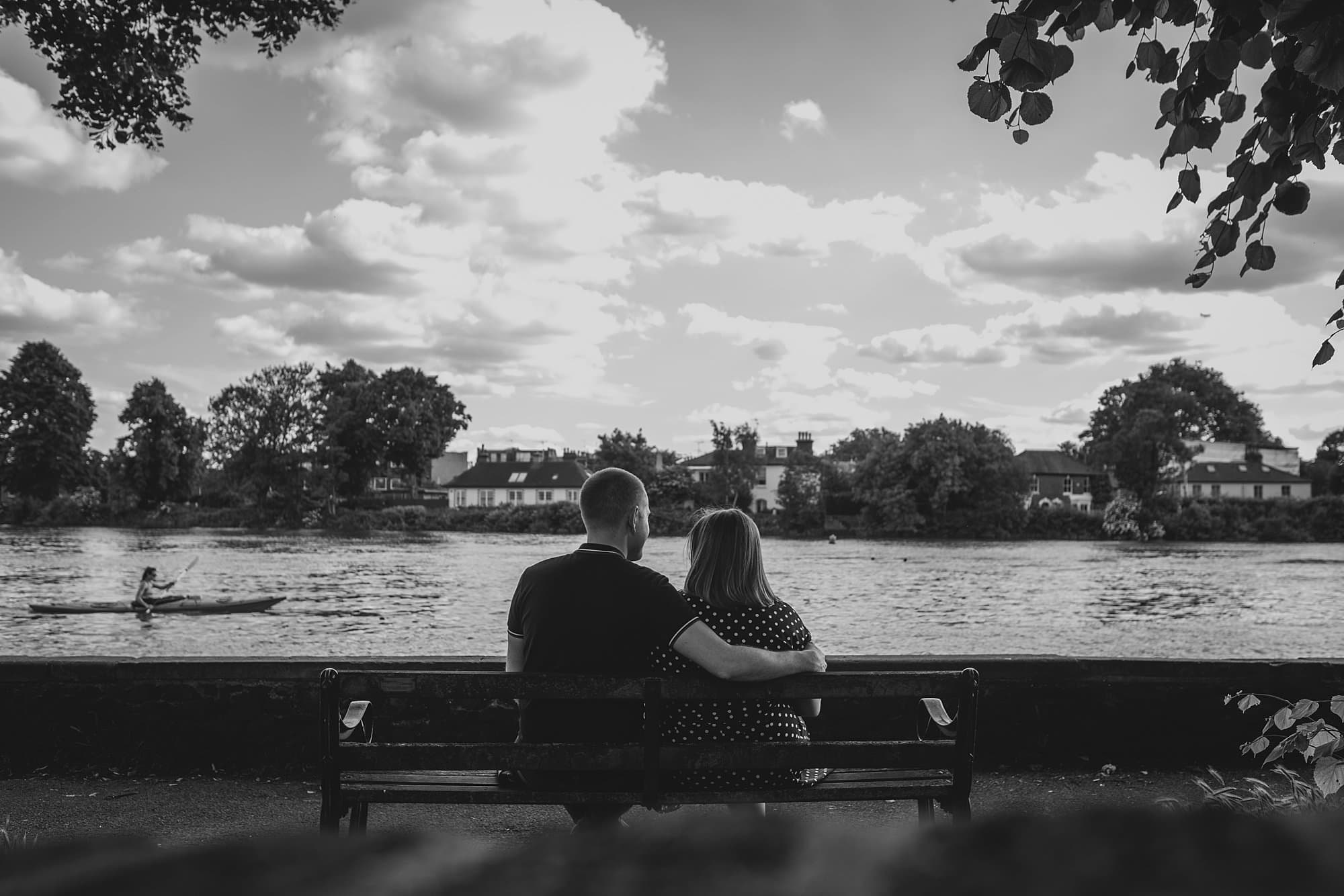 london engagement photographer strand on the green hj 014 - Hannah + Joe | Strand on the Green Engagement Photography