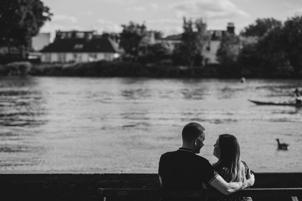 london engagement photographer strand on the green hj 016 1024x682 - London Engagement Photography