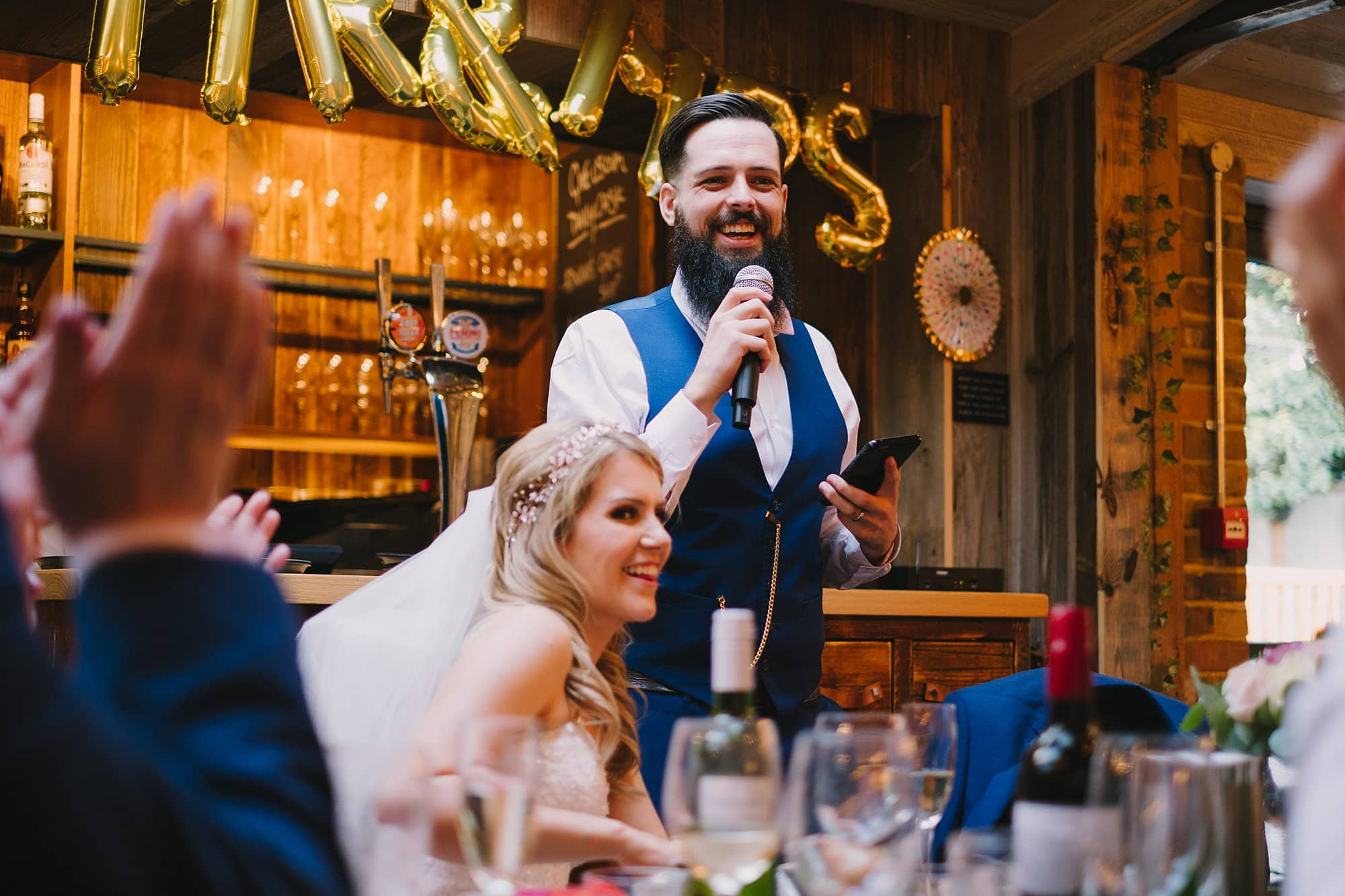 london pub wedding photographer jn 045 - The County Arms Wedding Photographer   Jen & Nick