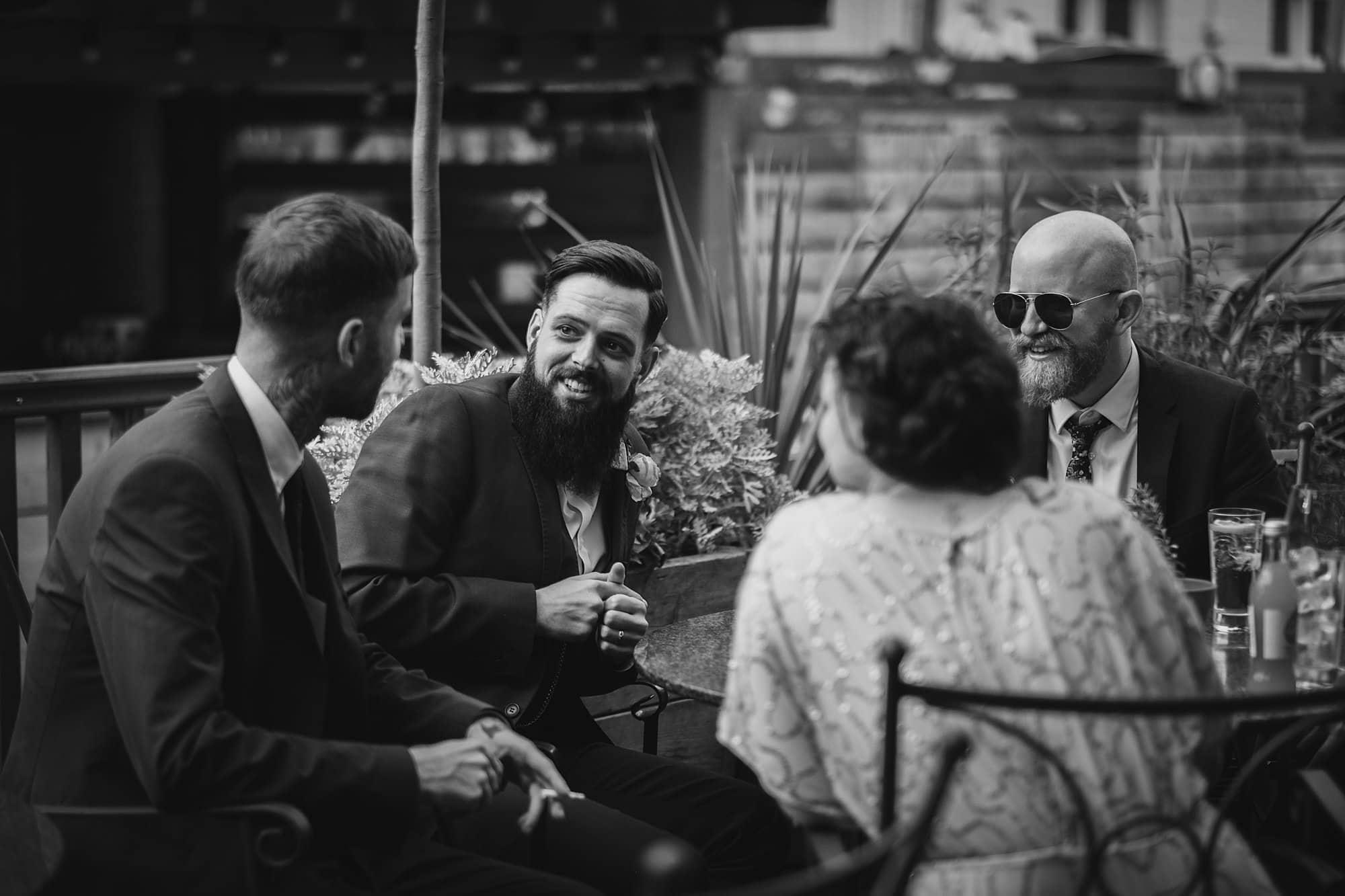 london pub wedding photographer jn 055 - The County Arms Wedding Photographer   Jen & Nick