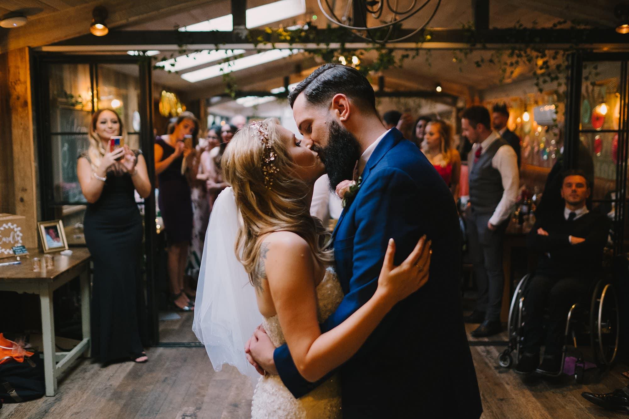 london pub wedding photographer jn 061 - The County Arms Wedding Photographer   Jen & Nick