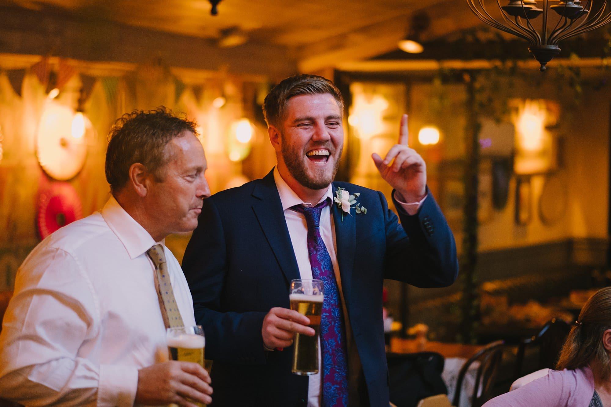london pub wedding photographer jn 068 - The County Arms Wedding Photographer   Jen & Nick