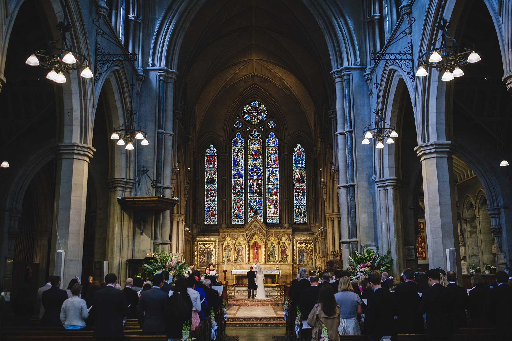 st mary abbots church wedding photography