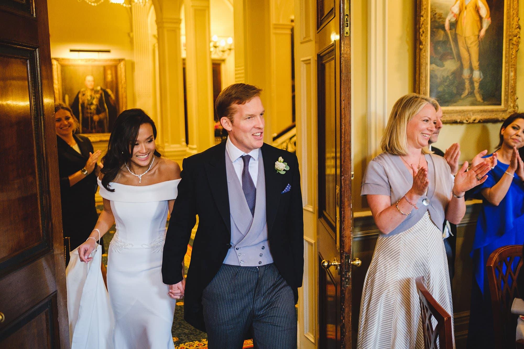 london wedding photographer cavalry guards club 088 - Charissa + Charles   Cavalry & Guards Club Wedding Photography