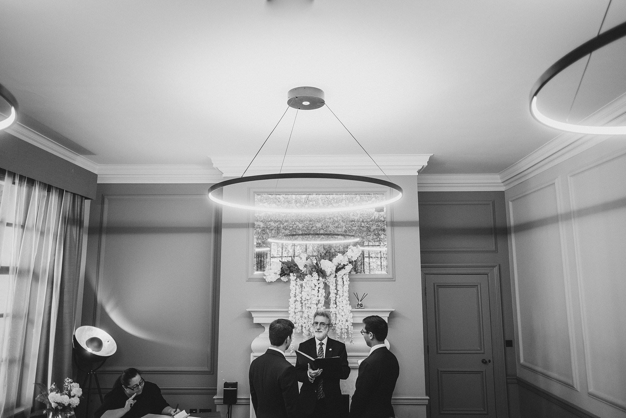 old marylebone town hall wedding photographer wedding jh 016 - Hugo + Josh   Marylebone