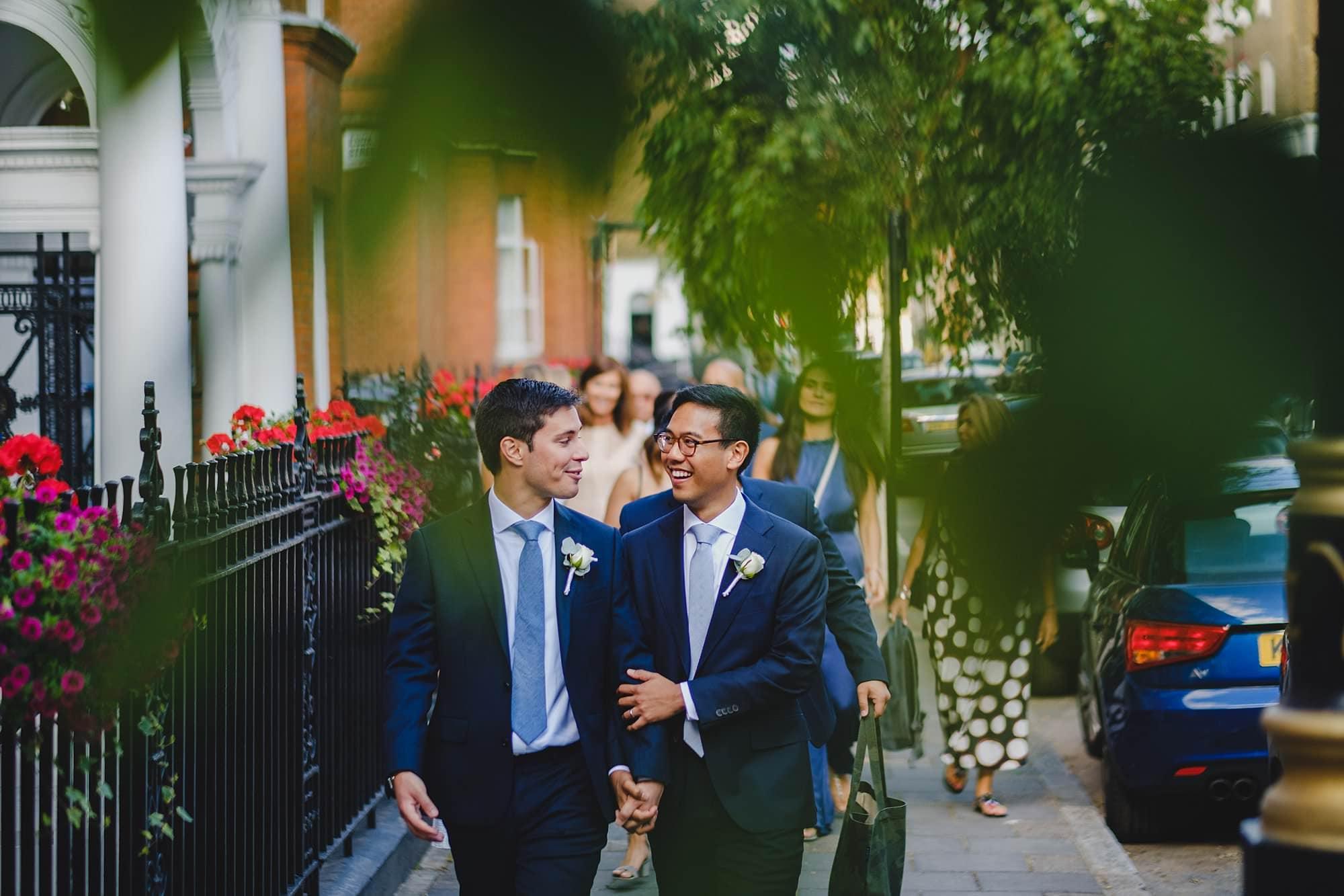 old marylebone town hall wedding photographer wedding jh 034 - Hugo + Josh   Marylebone