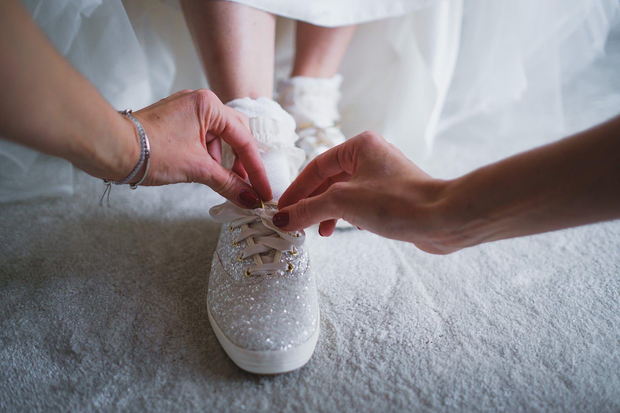 keds wedding shoes for a fulham palace wedding