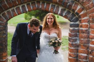wedding portaits at fulham palace