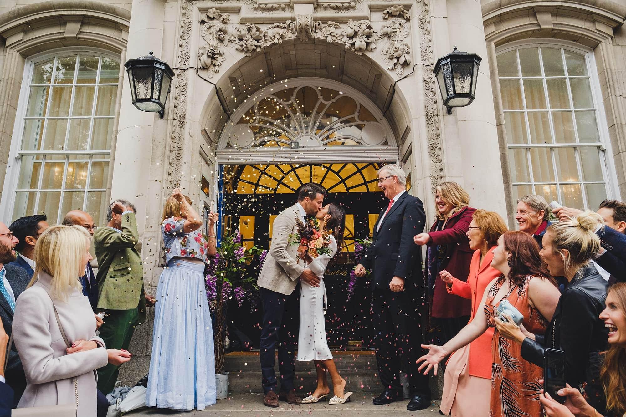chelsea old town hall wedding photographer te 065 - Tara + Ed