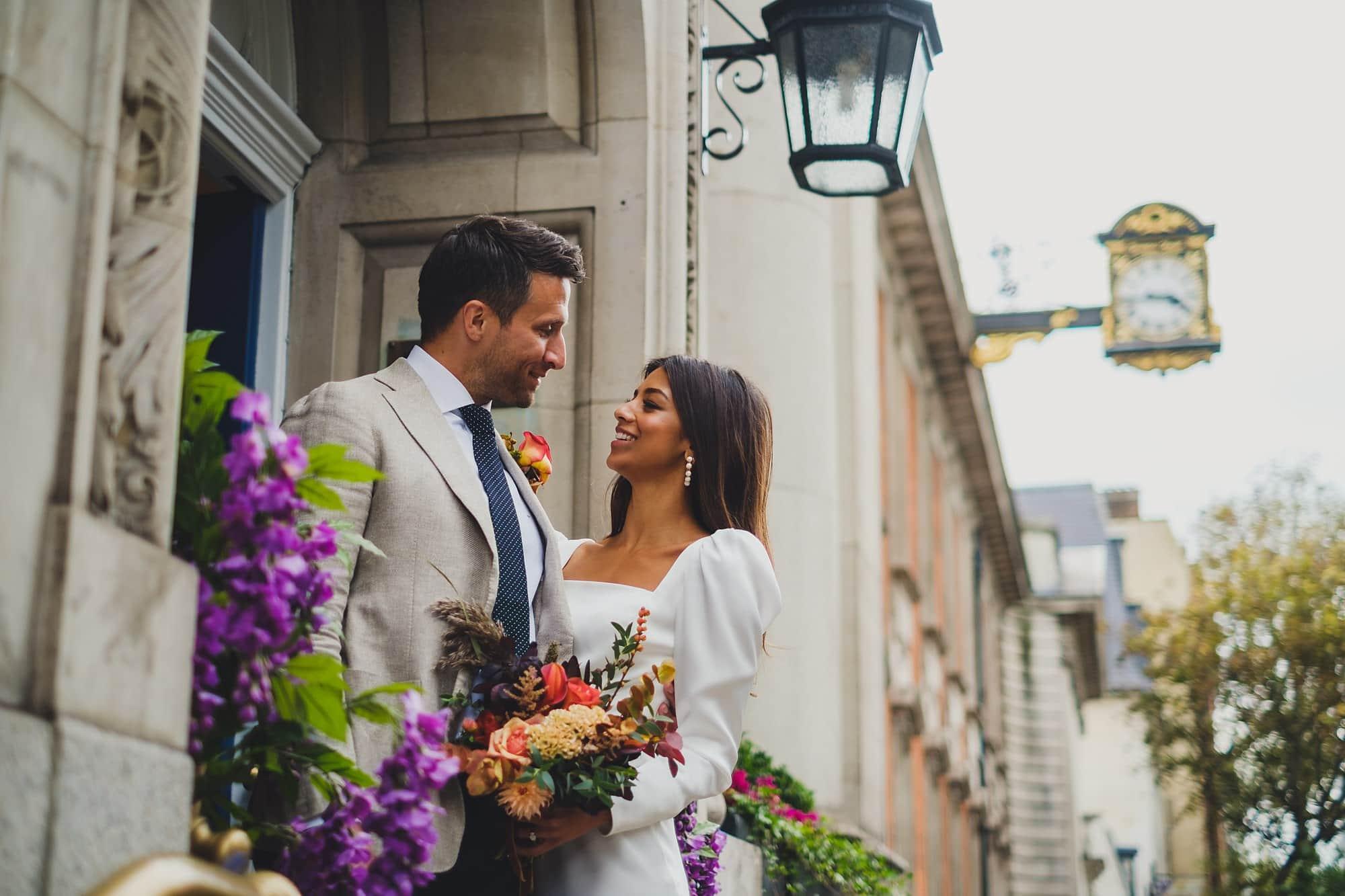 chelsea old town hall wedding photographer te 080 - Tara + Ed