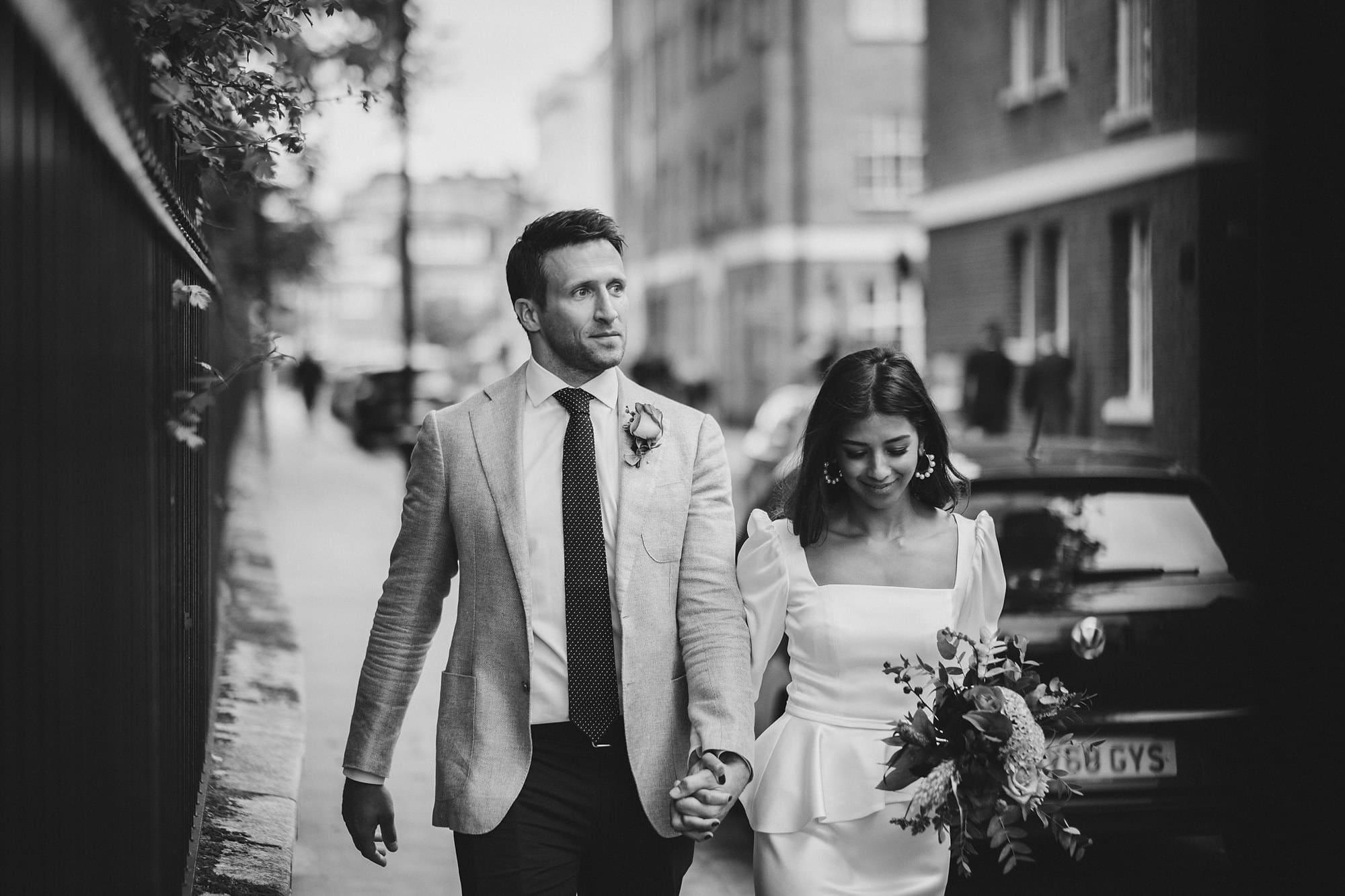 chelsea old town hall wedding photographer te 090 - Tara + Ed