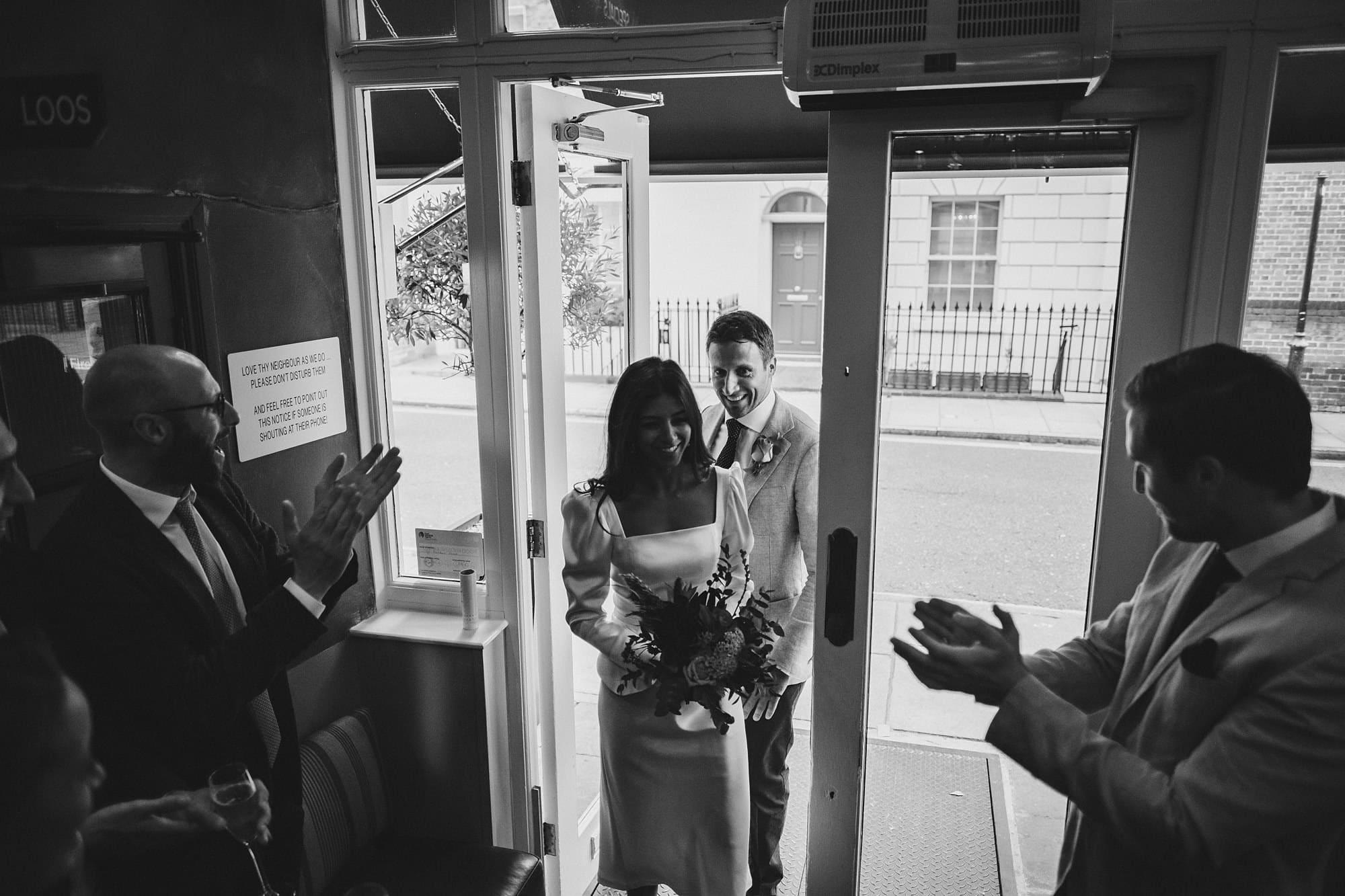 chelsea old town hall wedding photographer te 102 - Tara + Ed