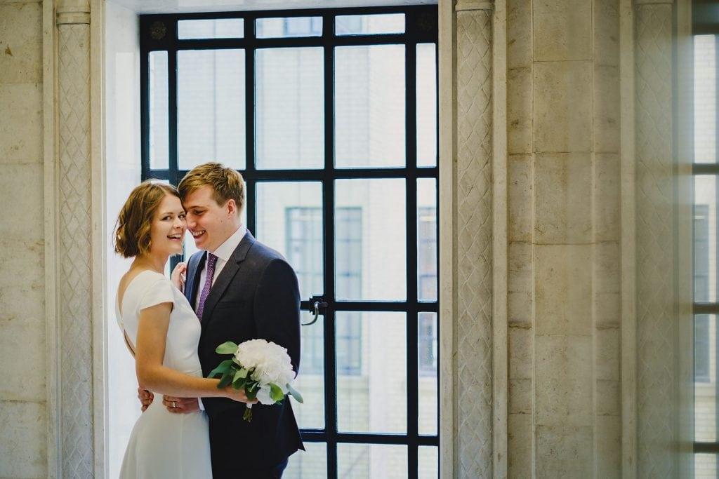 old marylebone town hall wedding photographer emma tom 027 spsav 1024x683 - Emma + Tom
