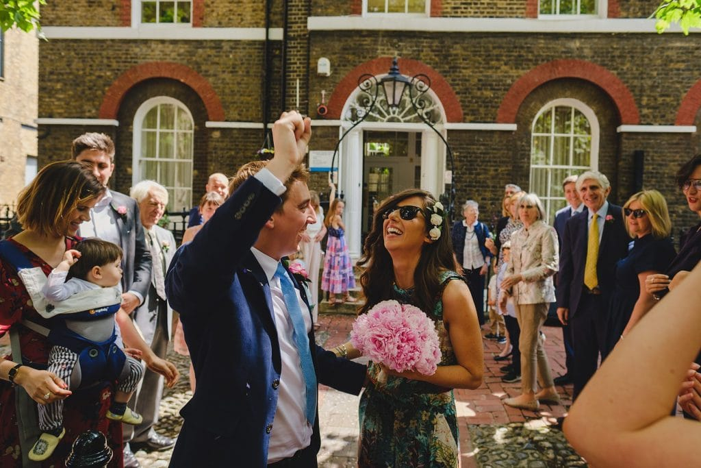 southwark wedding photographer willjess 037 1024x683 - Jess + Will