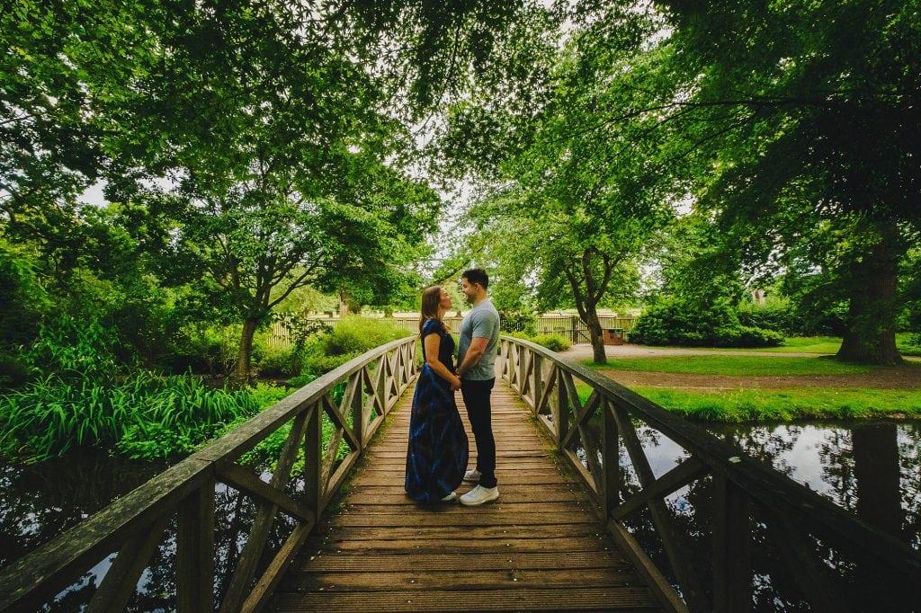 bushy park engagement photographer lw 001 1024x682 - Liz + Will   Bushy Park Engagement Photography