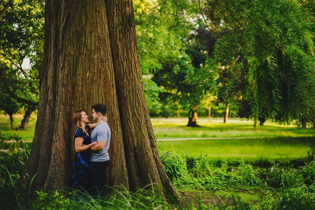 bushy park engagement photographer lw 013 1024x682 - Liz + Will   Bushy Park Engagement Photography