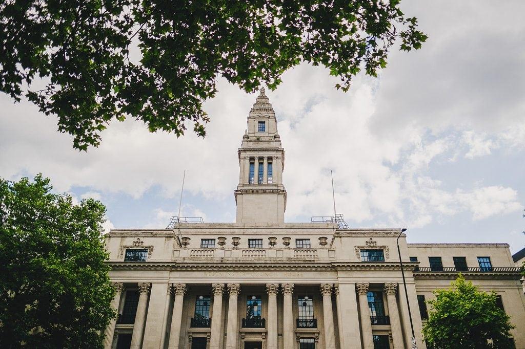 old marylebone town hall regents park wedding photographer 001 1024x682 - Michaela + Zoltan | Marylebone & Regents Park