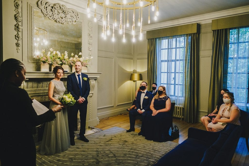 old marylebone town hall regents park wedding photographer 007 1024x682 - Michaela + Zoltan | Marylebone & Regents Park