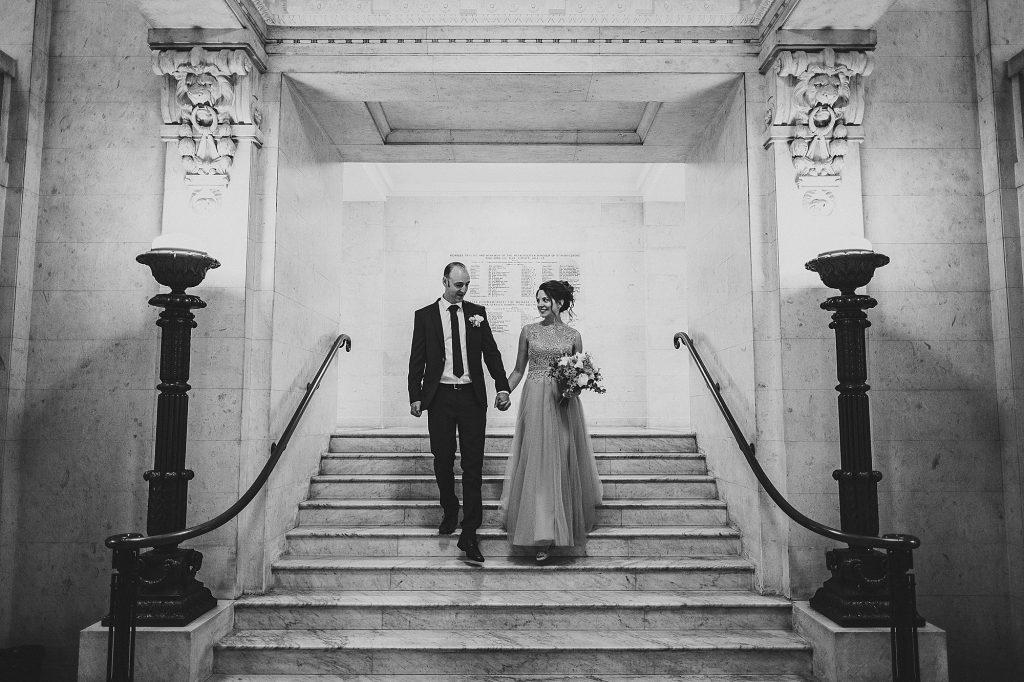 old marylebone town hall regents park wedding photographer 013 1024x682 - Michaela + Zoltan | Marylebone & Regents Park