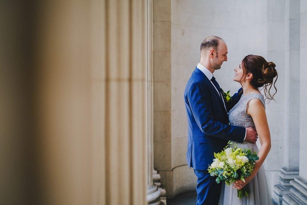 old marylebone town hall regents park wedding photographer 016 1024x682 - Michaela + Zoltan | Marylebone & Regents Park