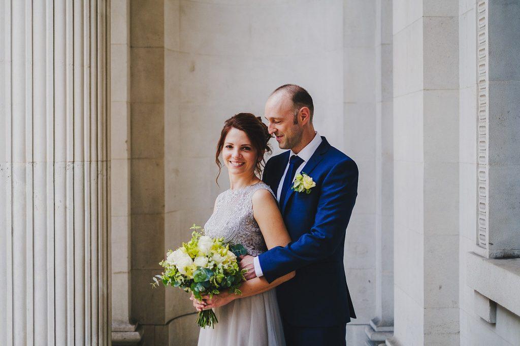old marylebone town hall regents park wedding photographer 017 1024x682 - Michaela + Zoltan | Marylebone & Regents Park
