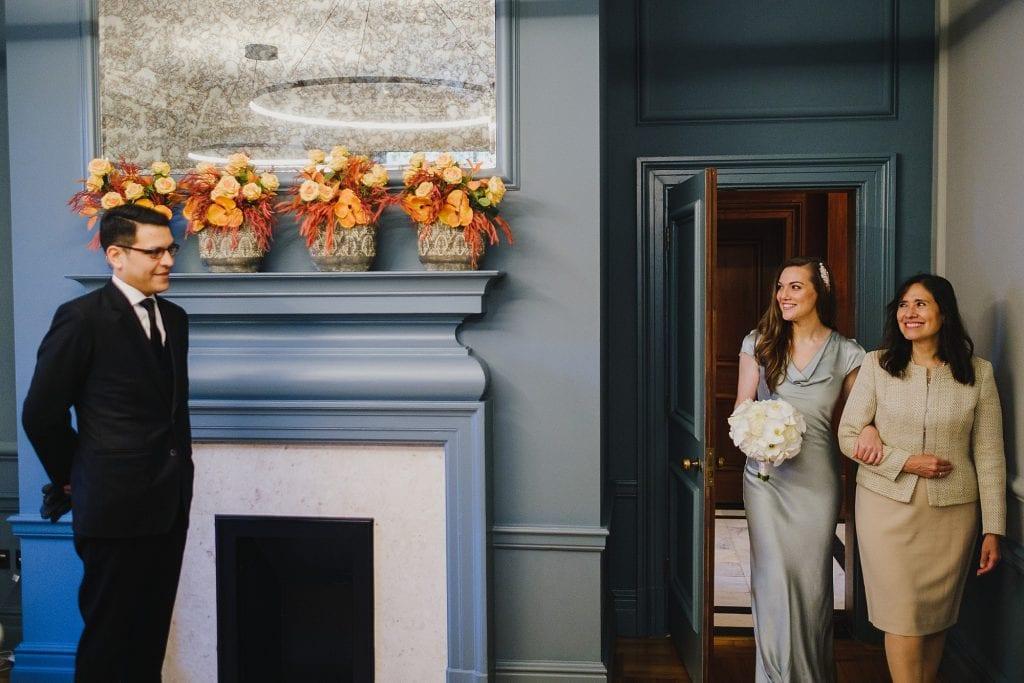 old marylebone town hall wedding photographer mm 006 1024x683 - Morgan + Miguel   Marylebone