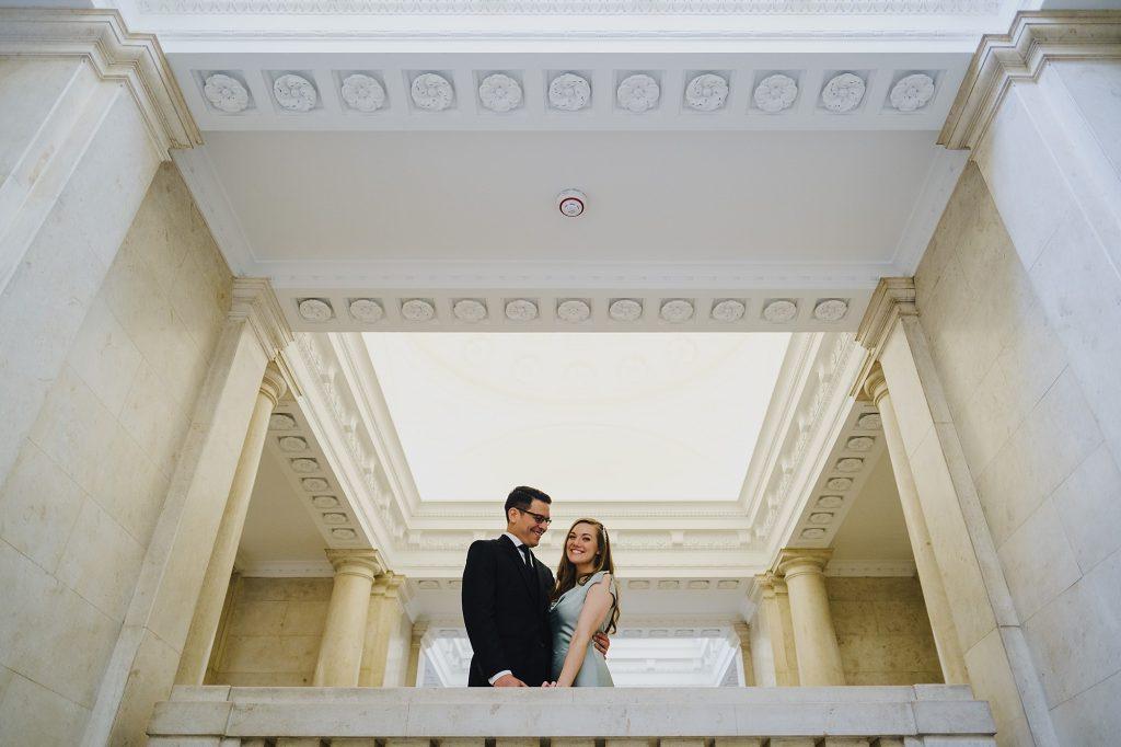 old marylebone town hall wedding photographer mm 011 1024x682 - Morgan + Miguel   Marylebone