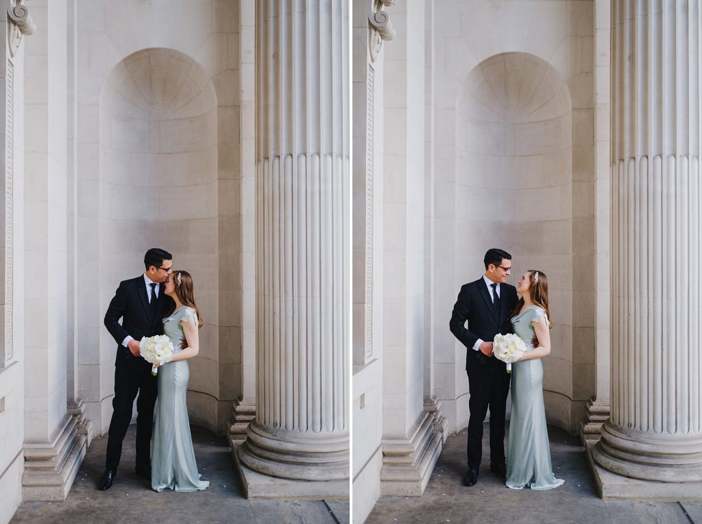 old marylebone town hall wedding photographer mm 017 1024x765 - Morgan + Miguel   Marylebone