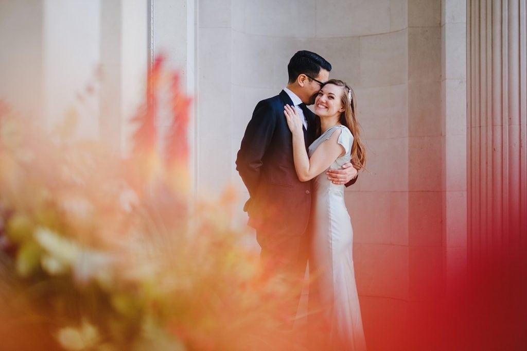 old marylebone town hall wedding photographer mm 019 1 1024x682 - Morgan + Miguel   Marylebone