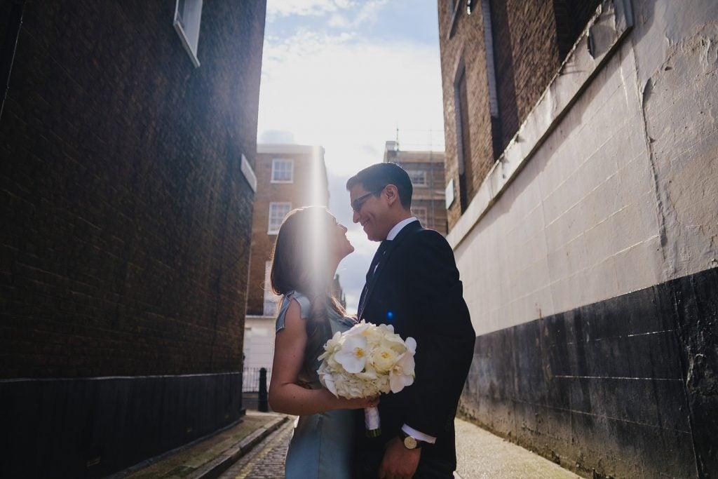 old marylebone town hall wedding photographer mm 021 1024x683 - Morgan + Miguel   Marylebone